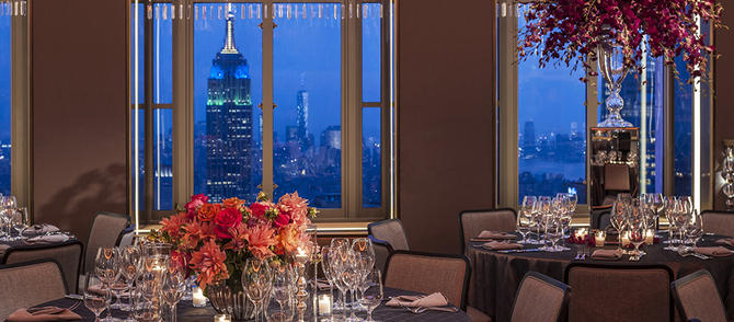 Rainbow Room Brunch Menu Price