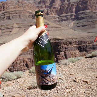 Champagne at the Grand Canyon