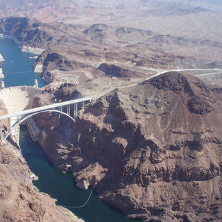 Hoover Dam from above