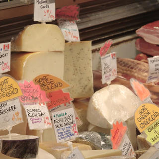 Granville Island cheeses