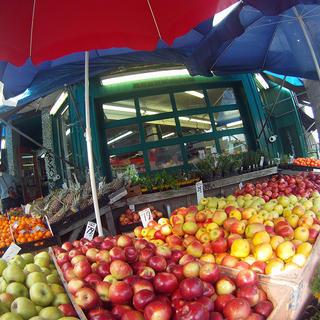 Fruit stall Toronto