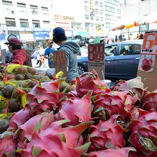 Market stall New York