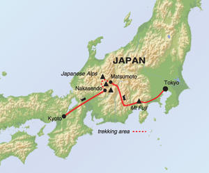 Map Of Japan With Mt Fuji - Japan map fuji